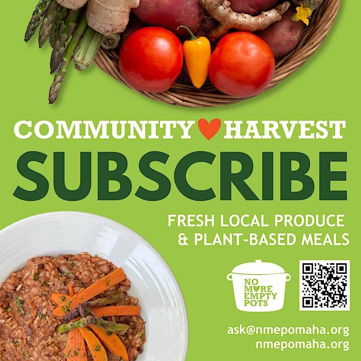 Community Harvest Open House image