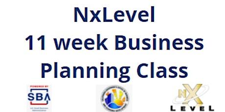 NxLevel Entrepreneur Business PlanningTraining tickets