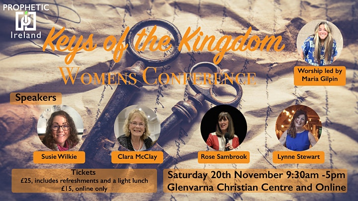 Keys of the Kingdom, Womens Conference image