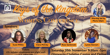 Keys of the Kingdom, Womens Conference tickets