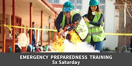 FREE* Emergency Preparedness Training—Saturdays Module tickets