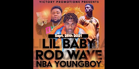 Lil Baby Rod Wave NBA Youngboy tickets
