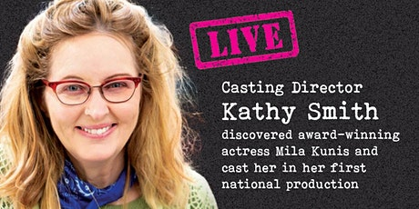 IN-PERSON MEET & GREET WITH CASTING DIRECTOR tickets