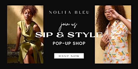 NOLITA BLEU SIP & STYLE POP-UP SHOP tickets