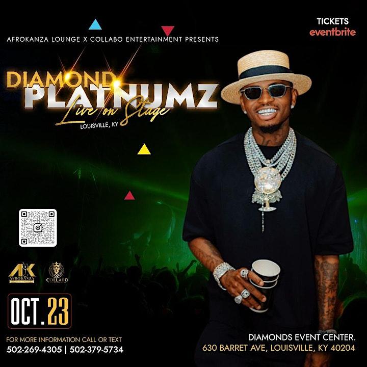 Diamond Platinumz Live in Louisville image