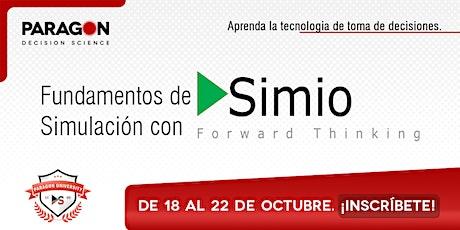 Entrenamiento Online: Fundamentos de Simulación con Simio -18 al 22 Oct. boletos
