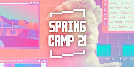 Spring Camp 2021 tickets
