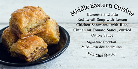 Traverse our Middle East Cuisine @ 1909 Culinary Academy - September 21 tickets