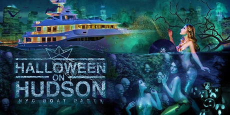 The #1 Halloween Party NYC: Friday Night Spooky Boat Yacht Cruise tickets