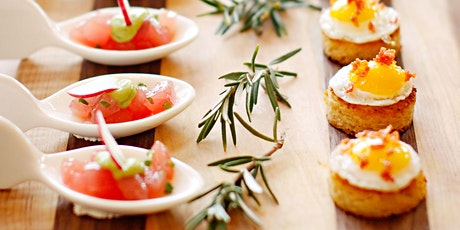Cocktails + Canapés Cooking Class tickets