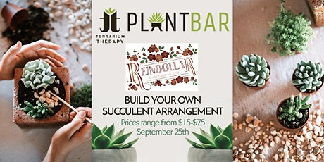 Pop-Up Plant Bar at The Reindollar Carriage House tickets