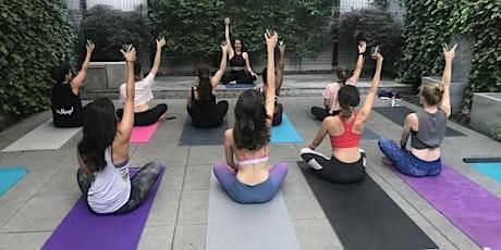Sweat, Sangria & Sunset! -Beginners yoga tickets