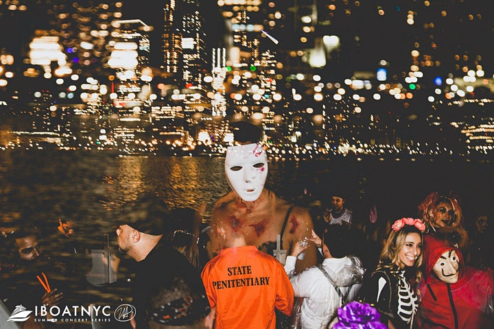The #1 Halloween Party NYC: Saturday Night on the Haunted Yacht image