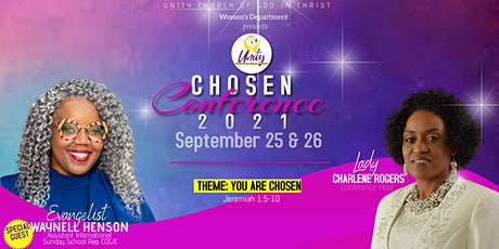"""Unity COGIC's  """"Chosen Conference 2021"""" tickets"""