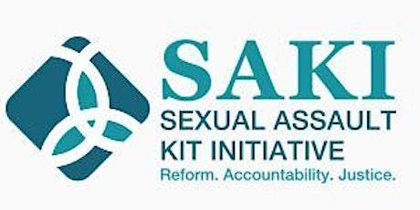 TXDPS – Sexual Assault Kit Initiative (SAKI) Seminar tickets