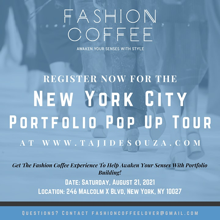 Fashion Coffee Portfolio Pop Up Tour image