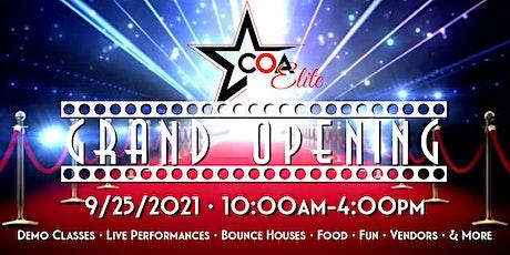 COA Grand Opening tickets