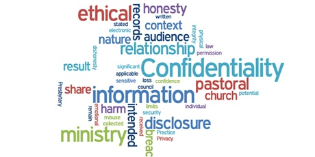 Ethical Ministry Refresher - Wednesday Evening - Confidentiality tickets