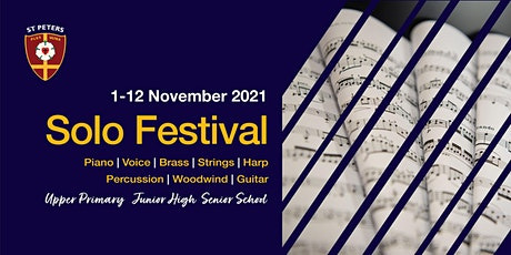 St Peters Music Solo Festival 2021 tickets