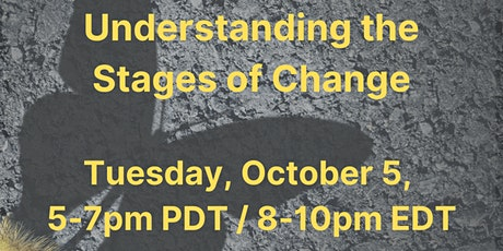 Making Sense of Change: Understanding the Stages of Change tickets