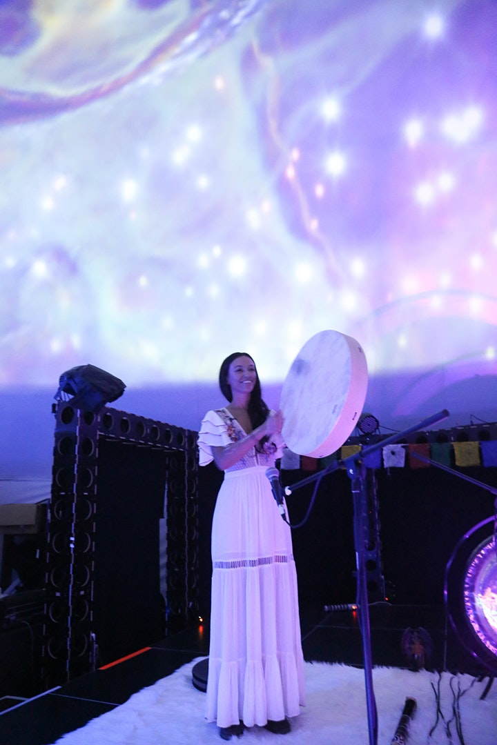 Manifestation New Moon Sound Bath with Ana Netanel & Special  Guests image