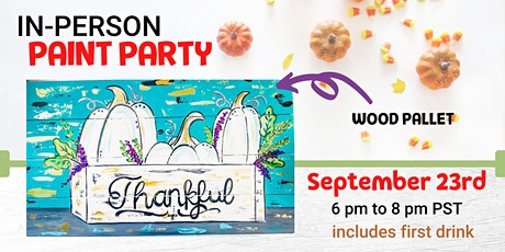 Fall Wood Pallet @ Wicked Teuton Brewing Co tickets