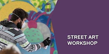 Street art workshop tickets