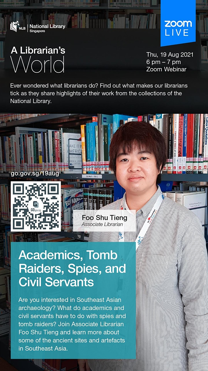 A Librarian's World: The Southeast Asian Archaeology Collection image