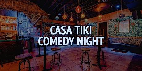 Casa Tiki Comedy Night tickets