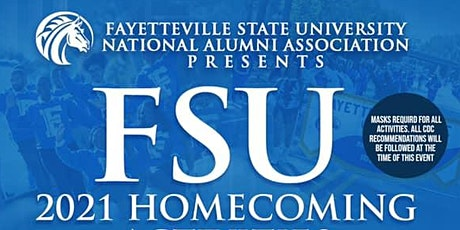 Fayetteville State University NAA Homecoming Events October 14-17, 2021 tickets