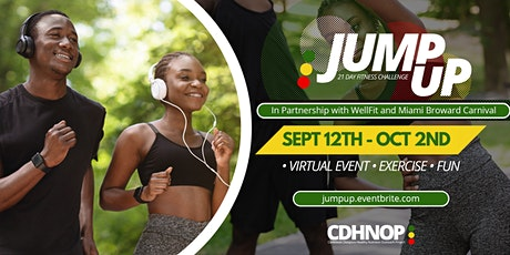 Jump Up 21 Day Fitness Challenge tickets