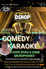 Ladies Night Comedy and Karaoke tickets