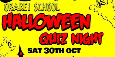 Orakei School FOS Halloween Quiz Night tickets