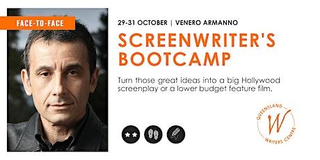 Screenwriter's Bootcamp with Venero Armanno tickets