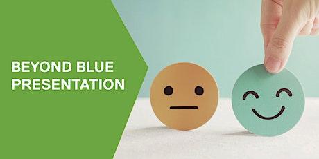 Beyond Blue presentation tickets