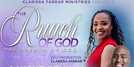 The Ruach of God tickets