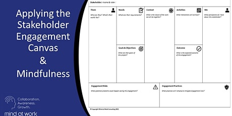 Successful Stakeholder Engagement   :   Live Online Half-day workshop tickets