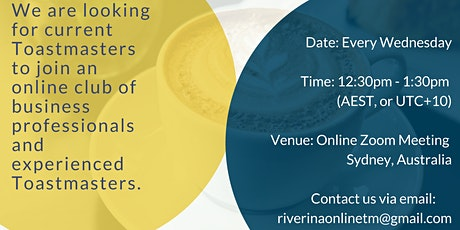 Improve your communicatiion skills - Wednesday lunch times online! tickets