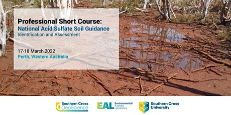 Professional Short Course: National Acid Sulfate Soils Guidance tickets