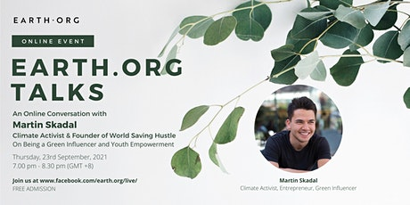 Earth.Org Talks: An Online Conversation with Martin Skadal tickets