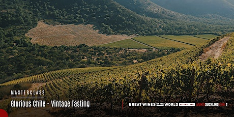 Great Wines of the World Masterclass: Glorious Chile - Vintage Tasting tickets