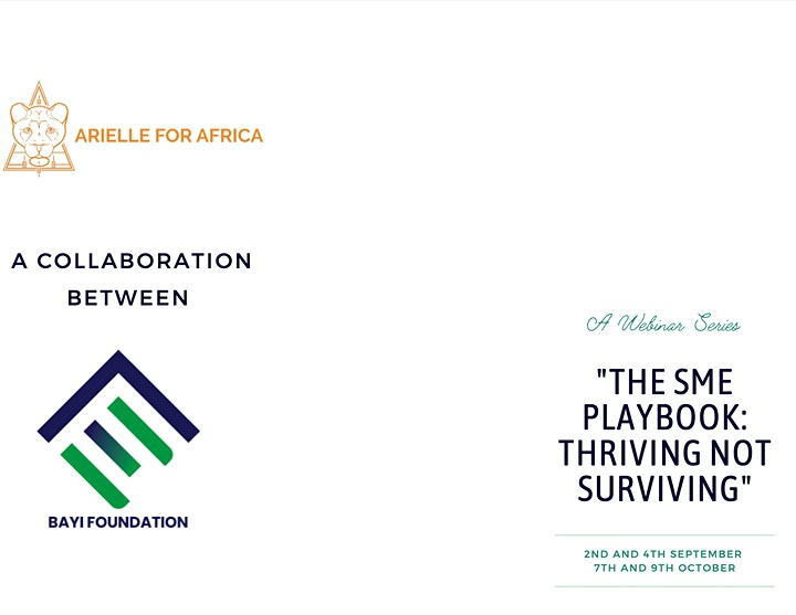 THE SME PLAYBOOK: Thriving not Surviving image