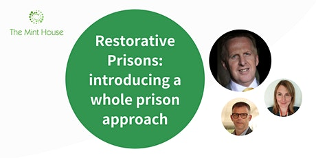 Restorative Prisons: introducing a whole prison approach tickets