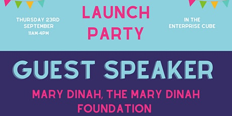 Launch Party - Talk from Mary Dinah, The Mary Dinah Foundation tickets