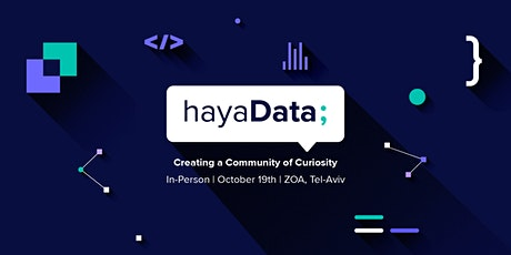 hayaData Conference tickets