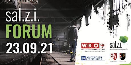 sal.z.i. Forum Tickets