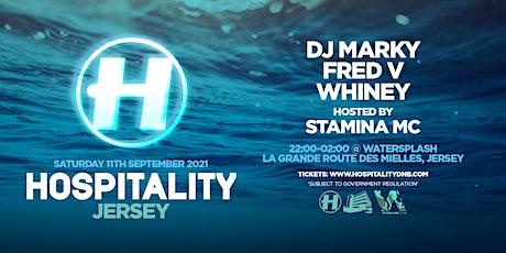 Hospitality Jersey tickets