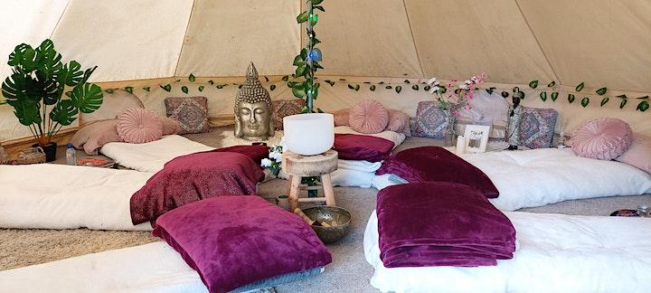 October Divine Feminine Full Moon Meditation in the Celestial Bell-Tent image