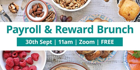 i-Realise Payroll & Reward Brunch - September 2021 tickets