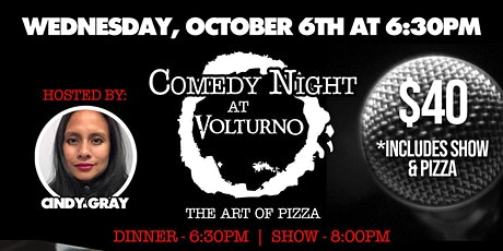 Gourmet Pizza and Comedy Show at Volturno in Worcester tickets